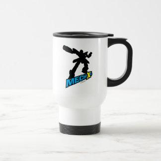 Mech X4 Silhouette Travel Mug