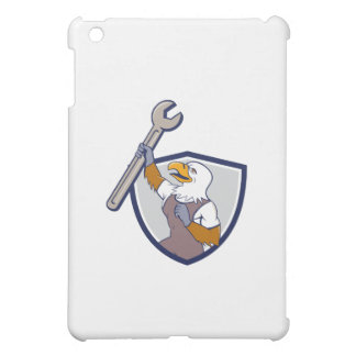 Mechanic Bald Eagle Spanner Crest Cartoon Case For The iPad Mini