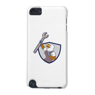 Mechanic Bald Eagle Spanner Crest Cartoon iPod Touch 5G Cases