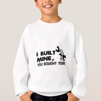 Mechanic, built mine sweatshirt