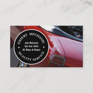 Mechanic Business Cards Profile Cards Zazzle Ca
