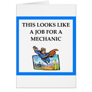 MECHANIC CARD