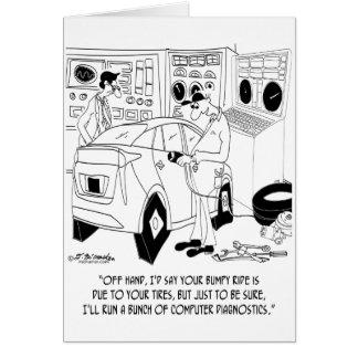 Mechanic Cartoon 9355 Card