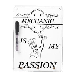 Mechanic Dry Erase Board