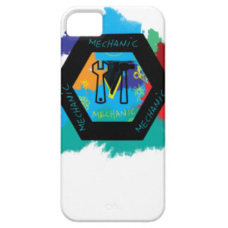 mechanic iPhone 5 cover