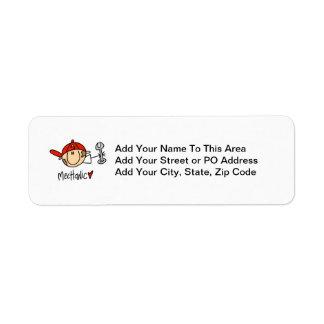 Mechanic Return Address Label