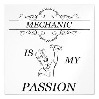 Mechanic Magnetic Invitations