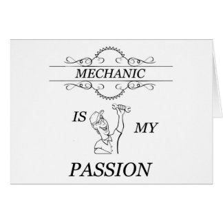 Mechanic Note Card