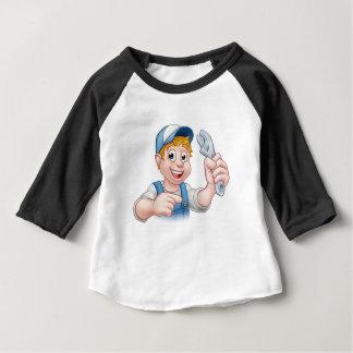Mechanic or Plumber Handyman Baby T-Shirt