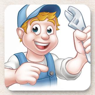 Mechanic or Plumber Handyman Coaster