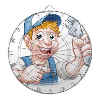 Mechanic or Plumber Handyman Dart Board