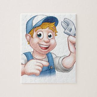 Mechanic or Plumber Handyman Puzzle