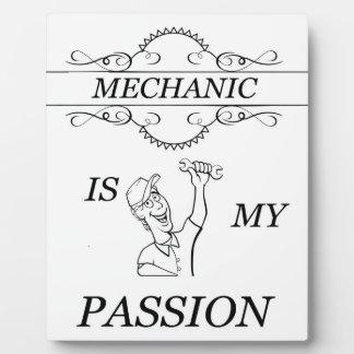 Mechanic Plaque