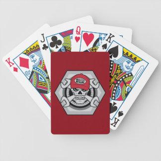 Mechanic Skull-01 Poker Deck