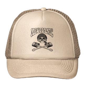 Mechanic Skull Pistons Hat