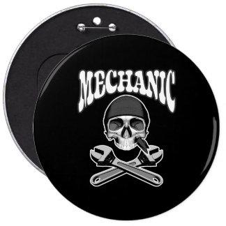 Mechanic Skull Wrenches Pin