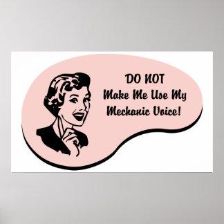 Mechanic Voice Print