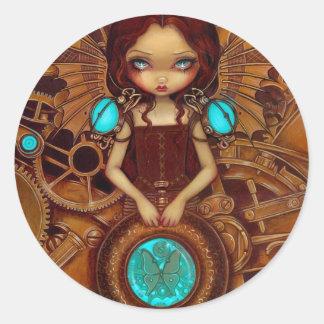 """Mechanical Angel I"" Sticker"