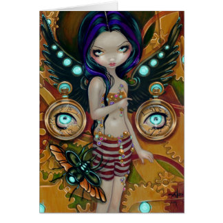 """Mechanical Angel III"" Greeting Card"