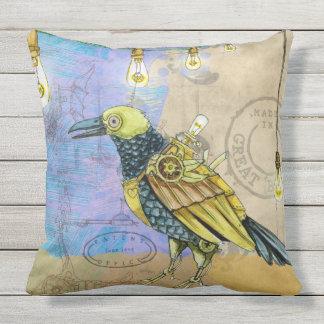 MECHANICAL BIRD PATENT Throw Cushion