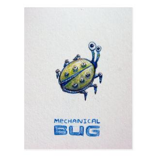Mechanical Bug postcard
