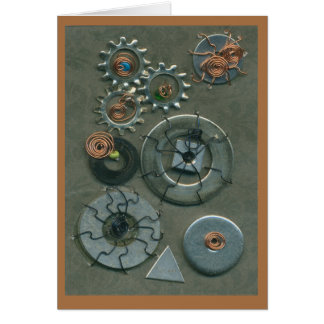 Mechanical Challenge by Anne Mulligan Card