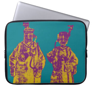 Mechanical Couple Laptop Sleeves