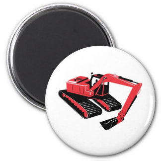 mechanical digger construction excavator 2 inch round magnet