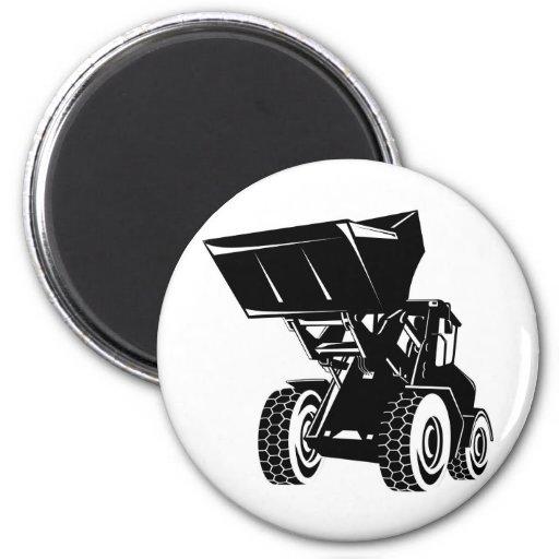 mechanical digger construction excavator fridge magnets