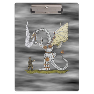 Mechanical Dragon Clipboard