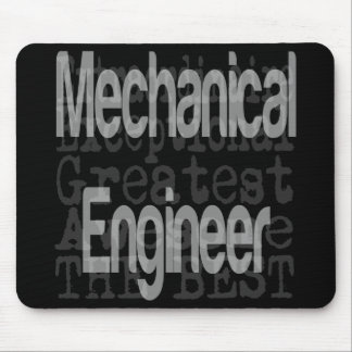 Mechanical Engineer Extraordinaire Mouse Pad