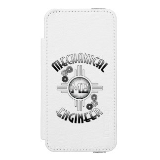 Mechanical Engineer Gears Incipio Watson™ iPhone 5 Wallet Case