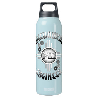 Mechanical Engineer Gears Insulated Water Bottle
