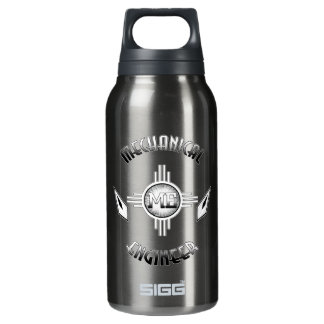 Mechanical Engineer Retro Insulated Water Bottle