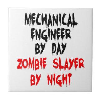 Mechanical Engineer Zombie Slayer Tiles