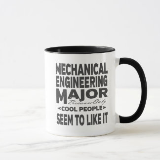 Mechanical Engineering College Major Cool People Mug
