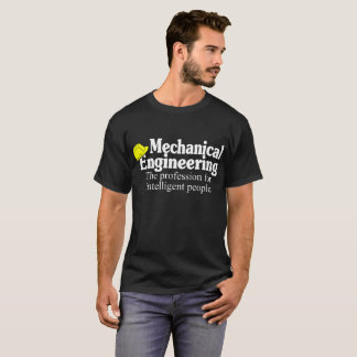Mechanical Engineering Profession Intelligent Tees