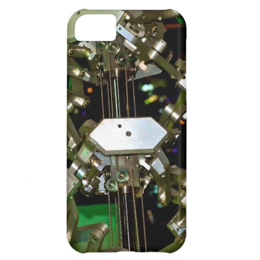 Mechanical Flex Abstraction iPhone 5C Cover