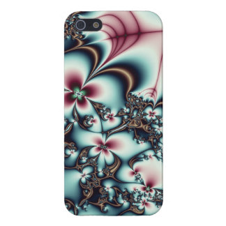 Mechanical Flowers Fractal Cover For iPhone 5/5S