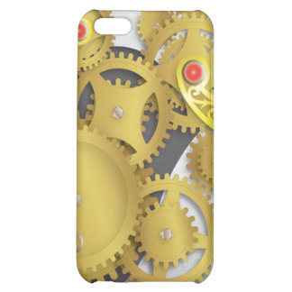 Mechanical Gears Cover For iPhone 5C