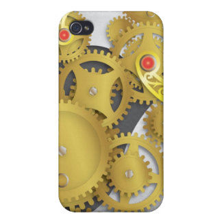 Mechanical Gears iPhone 4 Cases