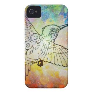 Mechanical Hummingbird Case-Mate iPhone 4 Case