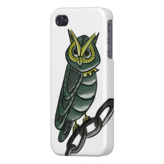 Mechanical Owl iPhone 4/4S Case