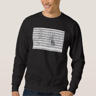 Mechanical Rabbit & Beethoven Sweatshirt