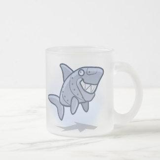 Mechanical Shark Frosted Mug