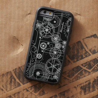 Mechanical Steam Punk Gears Tough Xtreme iPhone 6 Case