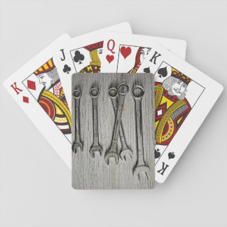 Mechanical tolls playing cards