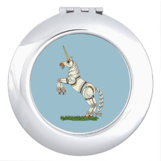 Mechanical Unicorn Compact Mirror