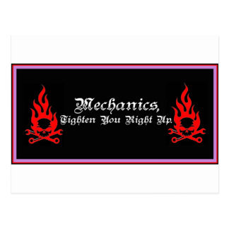 Mechanics jpg postcards