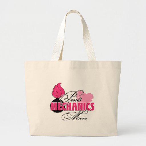 Mechanics Mom Canvas Bags